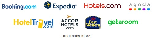 Picture of travel website logos